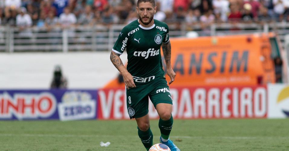 Zé Rafael durante partida do Palmeiras contra o RB Bragantino