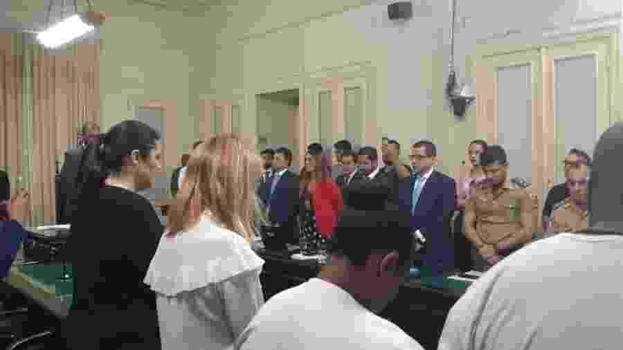 Sessão da CPI dos Incêndios na Alerj apura mortes no centro de treinamento Ninho do Urubu - Leo Burlá / UOL Esporte