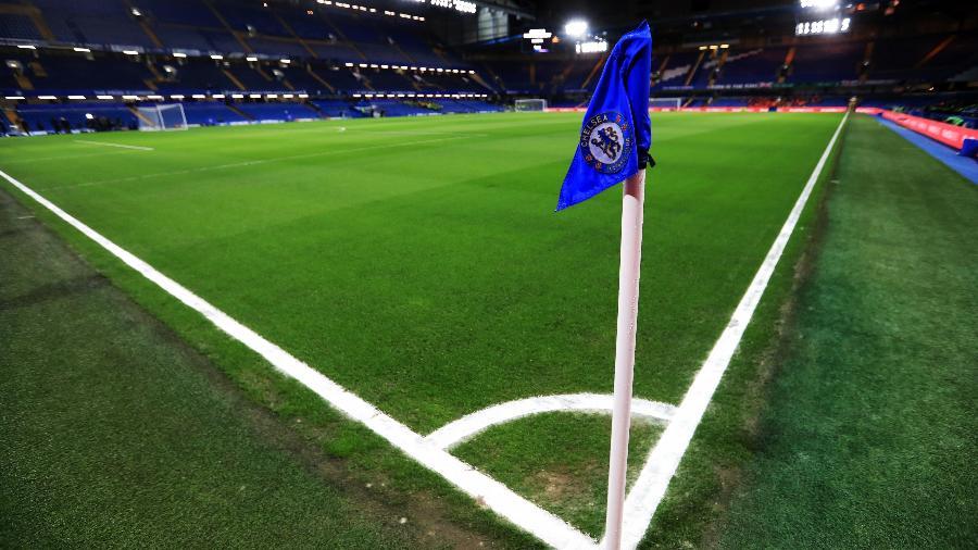 Stamford Bridge, antes do jogo entre Chelsea e Manchester United - Mike Egerton - PA Images/PA Images via Getty Images
