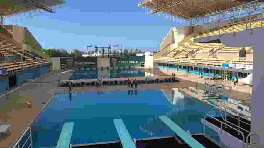 Parque Aquático Maria Lenk, casa do Time Brasil - Carol Delmazon/Ministério do Esporte