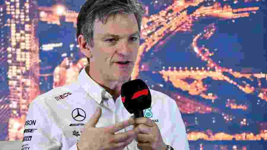 James Allison é diretor-técnico da Mercedes desde 2017 - LAT Images