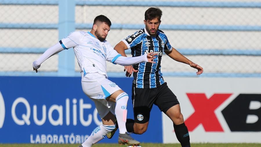 Lucas Silva, do Grêmio, vive expectativa de primeiro título pelo clube - RICHARD DUCKER/ESTADÃO CONTEÚDO