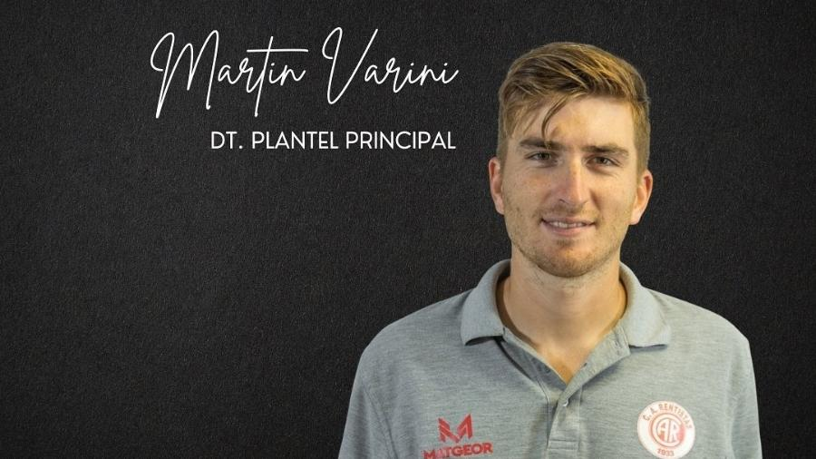Novo técnico do Rentistas, Martín Varini - Divulgação