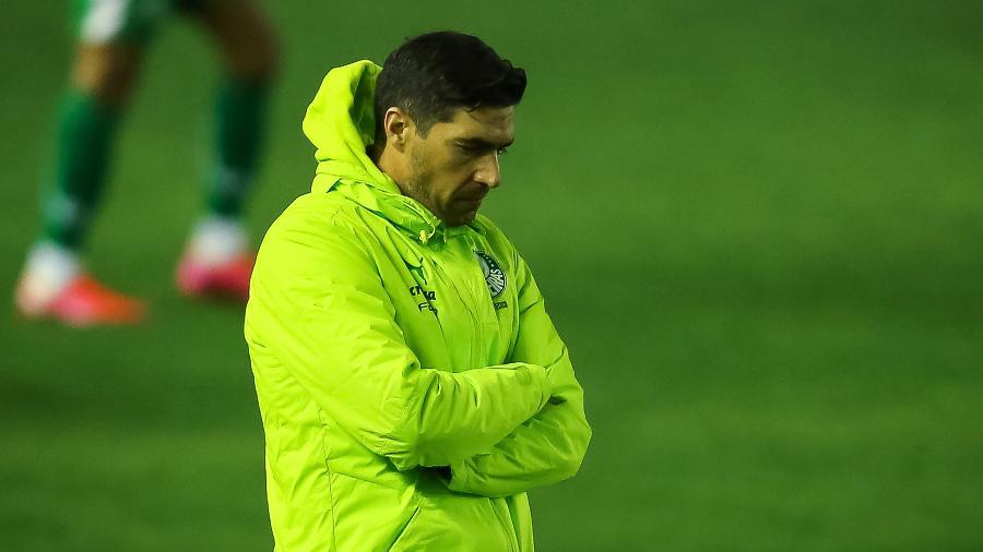 Abel Ferreira, técnico do Palmeiras, durante partida contra o Juventude  - Pedro H. Tesch/AGIF