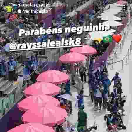 rayssa - Reprodução/Instagram - Reprodução/Instagram
