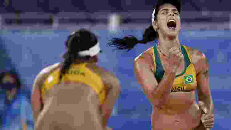 Ágatha e Duda, vôlei de praia feminino - Pilar Olivares/Reuters - Pilar Olivares/Reuters