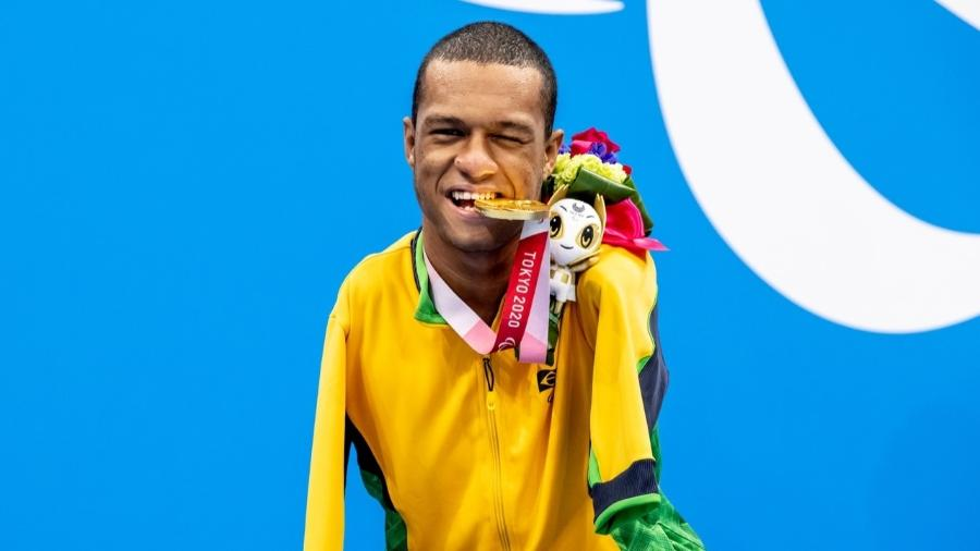 Gabrielzinho conquista sua segunda medalha de ouro em Tóquio - Miriam Jeske/CPB