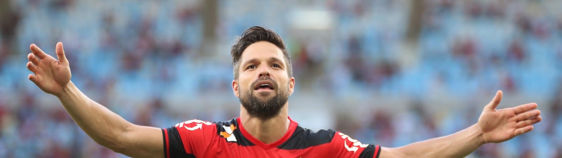 Diego foi o destaque do Flamengo no Campeonato Brasileiro e caiu nas graças da torcida