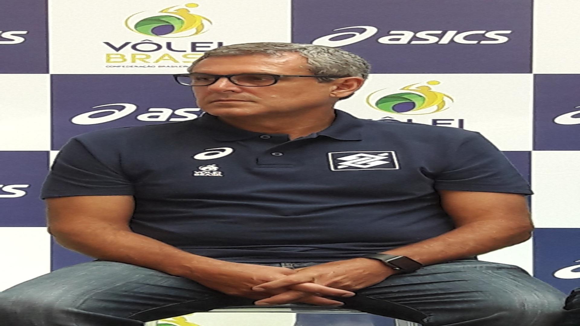 José Roberto Guimarães, técnico da seleção brasileira de vôlei