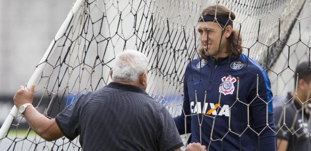Cássio de início à sua sexta temporada no Corinthians