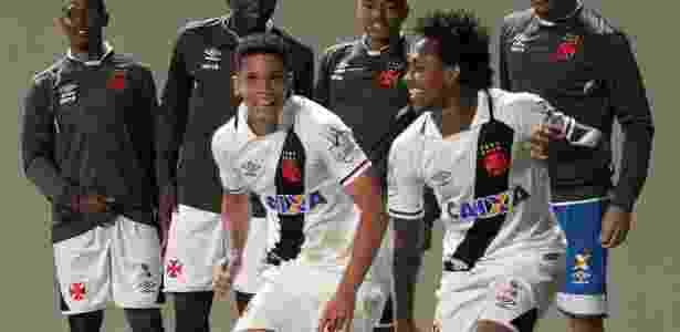 Paulinho (à esquerda) anotou o gol do Vasco no Estádio Independência - Carlos Gregório Jr/Vasco.com.br.
