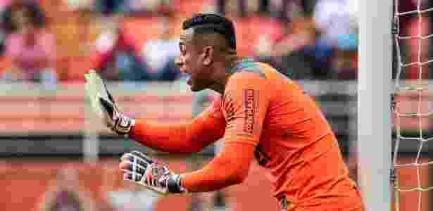 O goleiro Sidão terminou a temporada como titular do São Paulo - Ale Cabral/AGIF