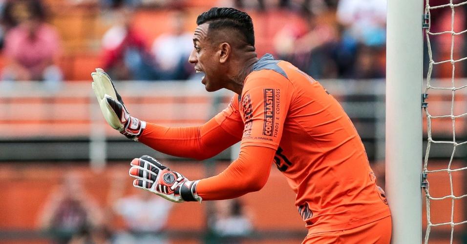 Sidão ajeita a barreira do São Paulo contra o Botafogo