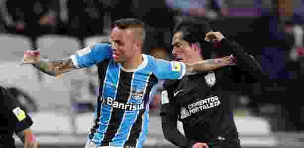 Grêmio Luan Pachuca - Amr Abdallah/Reuters - Amr Abdallah/Reuters