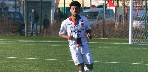 O meia francês Mohamed Bahlouli, revelação do Lyon