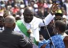 Novo presidente da Libéria, ex-craque George Weah é chamado de