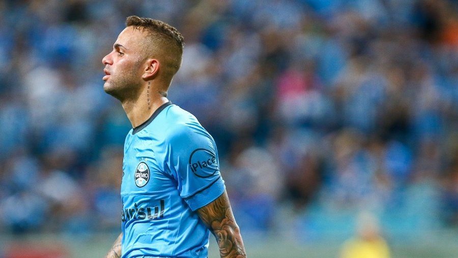 Luan é destaque no Grêmio, mas não agradou Tite atuando mais aberto e avançado - Lucas Uebel/Grêmio FBPA