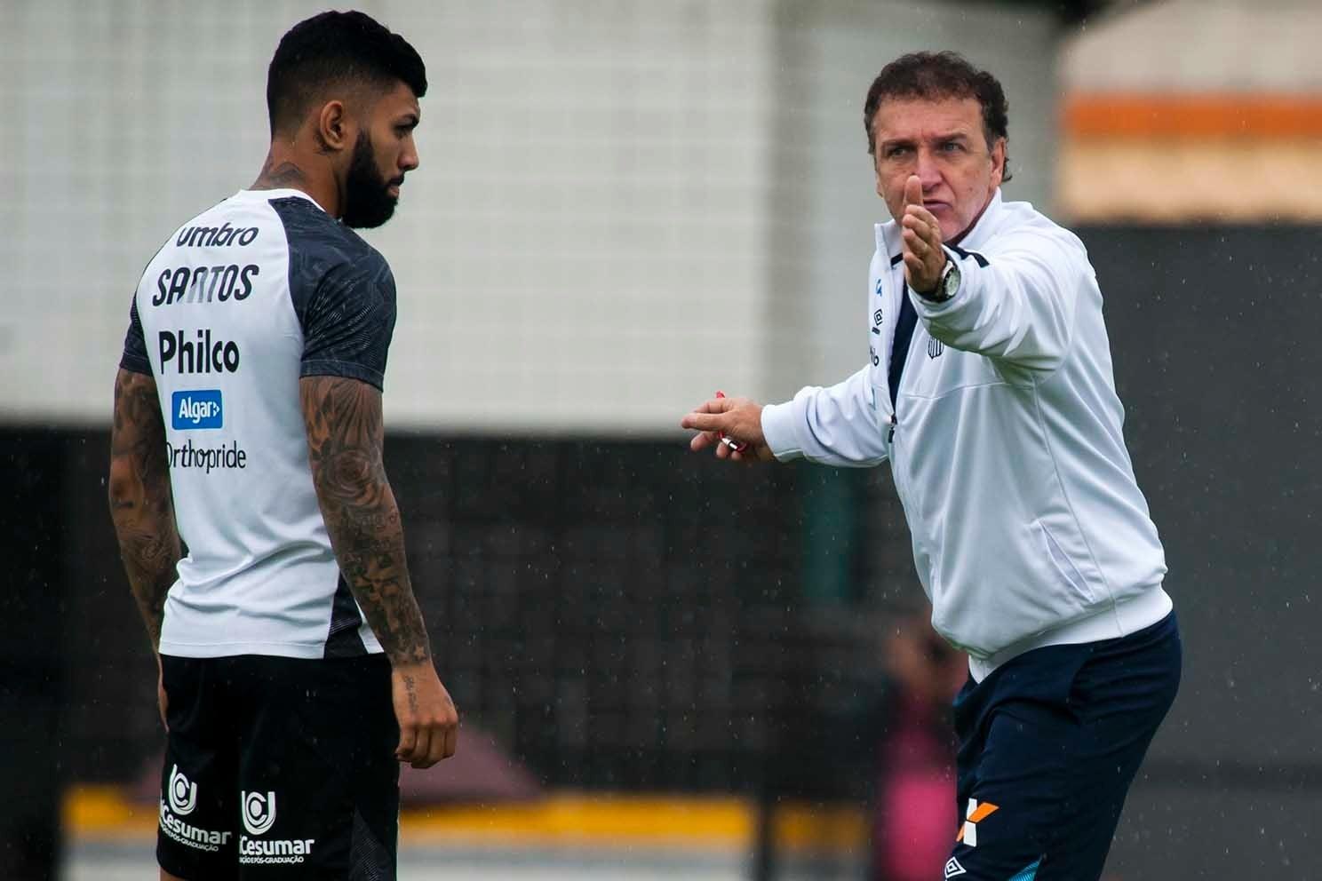Cuca detalha como recuperou Gabigol no Santos