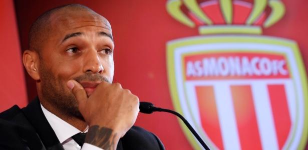 Henry permaneceu três meses no posto de treinador do Monaco - REUTERS/Eric Gaillard