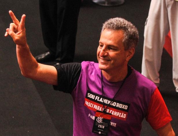 Eleito presidente do Flamengo, Rodolfo Landim toma posse em cerimônia na Gávea - Divulgação