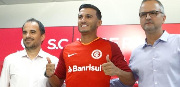 Guilherme Parede é apresentado como jogador do Internacional para temporada 2019