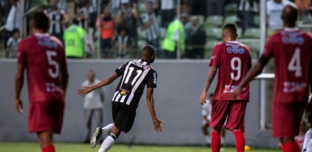 Maicon Bolt celebra gol do Atlético-MG contra o Guarani - Pedro Vale/Agif