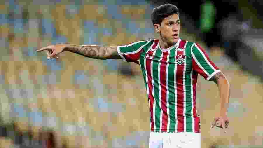 Atacante Pedro, do Fluminense, volta aos gramados após nove meses por lesão - LUCAS MERÇON / FLUMINENSE F.C.