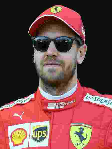 Sebastian Vettel, piloto da Ferrari em 2019 - William West/AFP