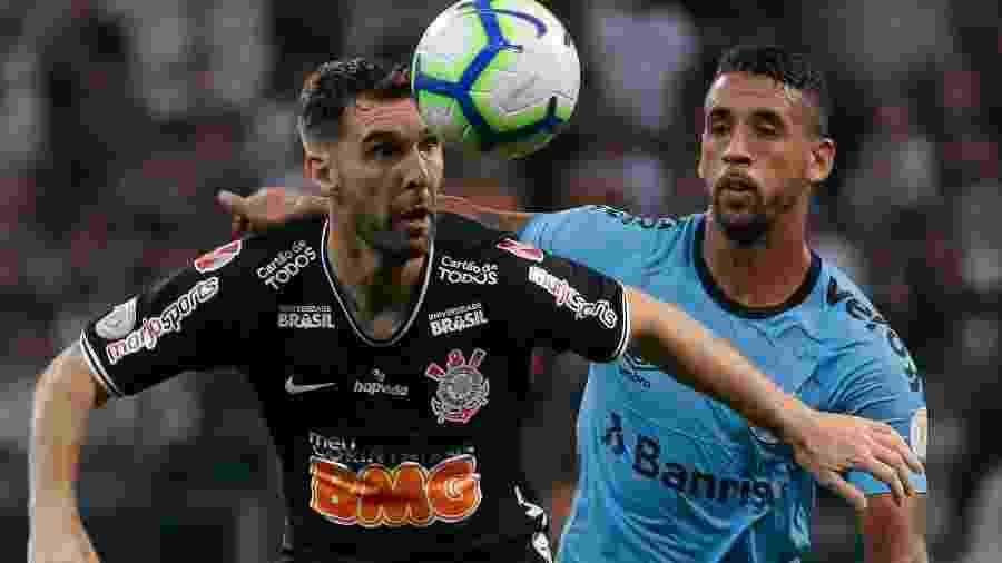Grêmio e Corinthians jogam na Arena do Grêmio pela 23ª rodada do Campeonato Brasileiro - Marcello Zambrana/AGIF