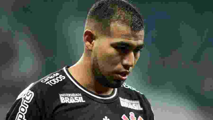 Sornoza, meia do Corinthians, teve atuação apagada contra o Grêmio no primeiro turno - Marcello Zambrana/AGIF
