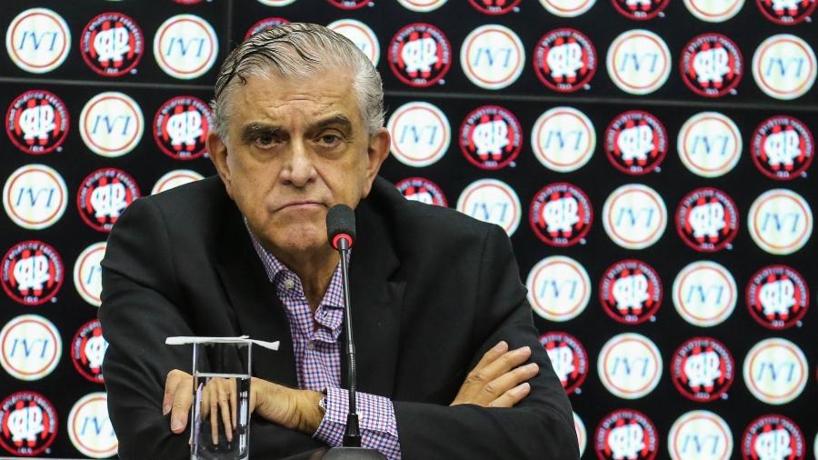 Mário Celso Petraglia, presidente do Conselho Deliberativo do Athletico-PR - Geraldo Bubniak/AGB/Folhapress
