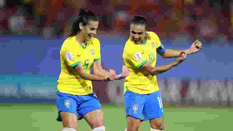 Marta chegou a 17 gols em Copas do Mundo, recorde entre homens e mulheres - Rener Pinheiro / MoWA Press