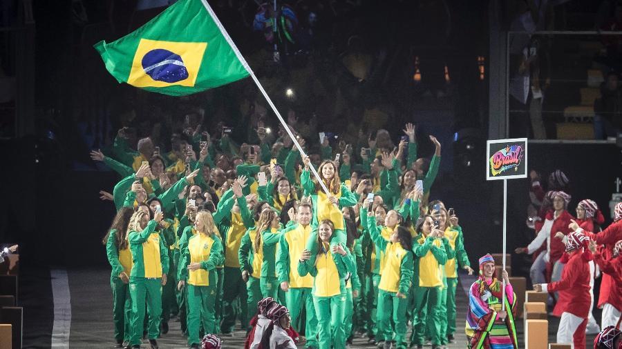 Crimônia de abertura do Pan em Lima - Jonne Roriz/COB
