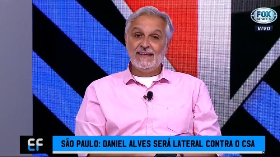 Sormani opina sobre posicionamento de Daniel Alves - Reprodução