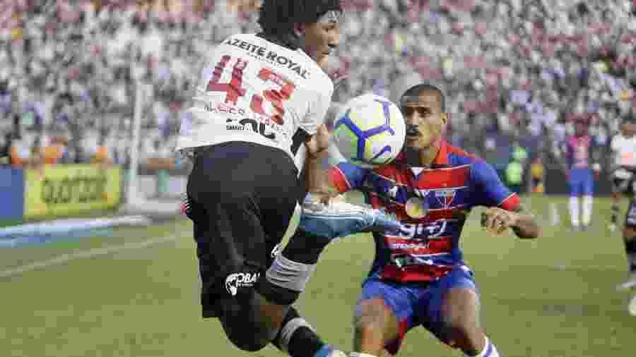 Talles Magno deu lambreta sensacional contra o Fortaleza - Rafael Ribeiro/Vasco