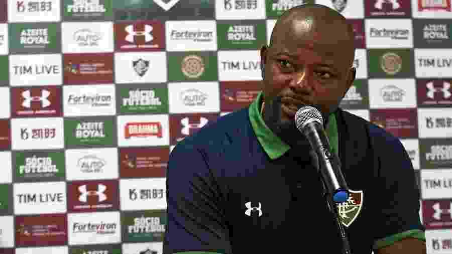 Marcão fez críticas à postura do Fluminense no segundo tempo do jogo com o Avaí - Mailson Santana/Fluminense FC