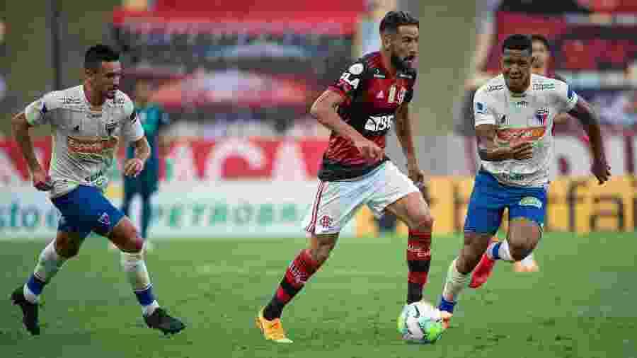 Fortaleza vem de derrota para o Flamengo por 2 a 1, no Maracanã - Alexandre Vidal / Flamengo