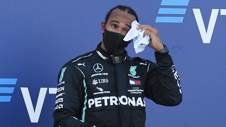 Lewis Hamilton pode conseguir salário anual de R$ 292 milhões na Mercedes - Kirill Kudryavtsev/Reuters