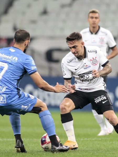 Corinthians e São Bento duelaram esta noite na Neo Química Arena  - Rodrigo Coca/ Ag. Corinthians