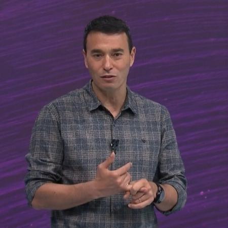 André Rizek, apresentador do SporTV - Reprodução/SporTV