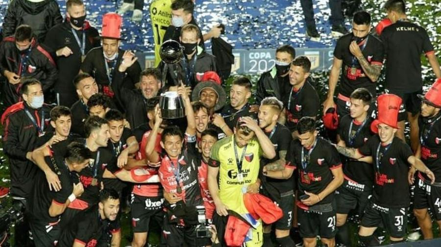 Colón campeão da Copa da Liga Argentina - Divulgação/CA Colón