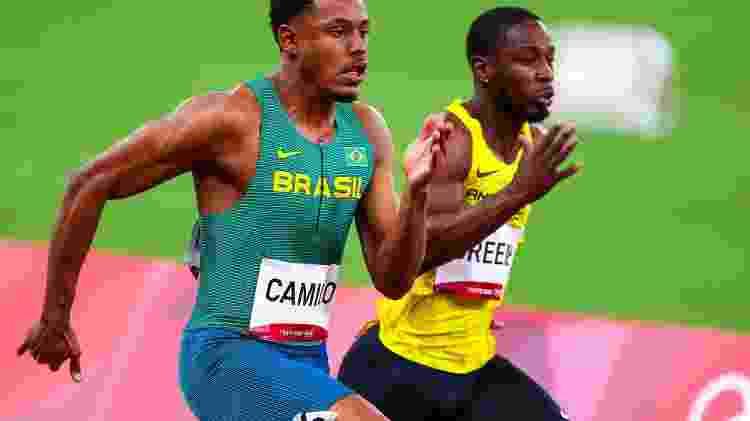 Paulo André disputa as eliminatórias dos 100m nas Olimpíadas de Tóquio - Wagner Carmo/CBAt - Wagner Carmo/CBAt
