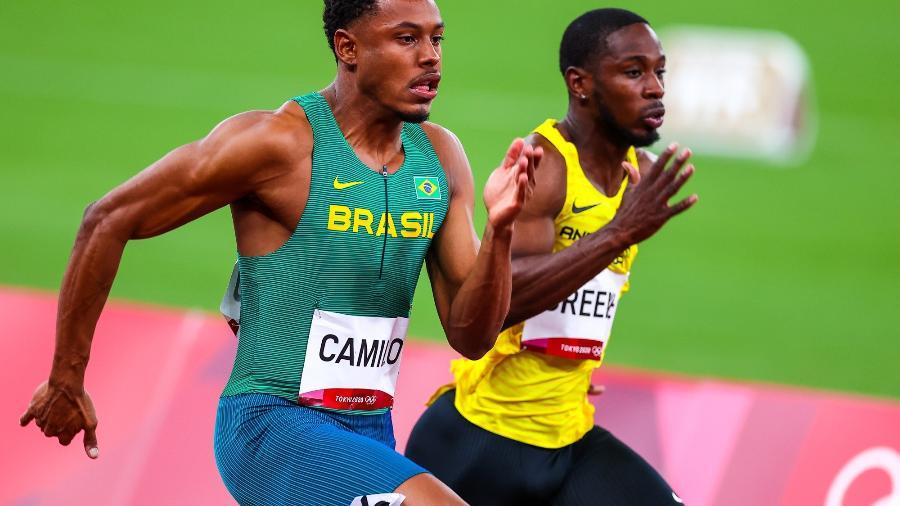 Paulo André não conseguiu classificação às finais dos 100 metros rasos nas Olimpíadas de Tóquio - Wagner Carmo/CBAt