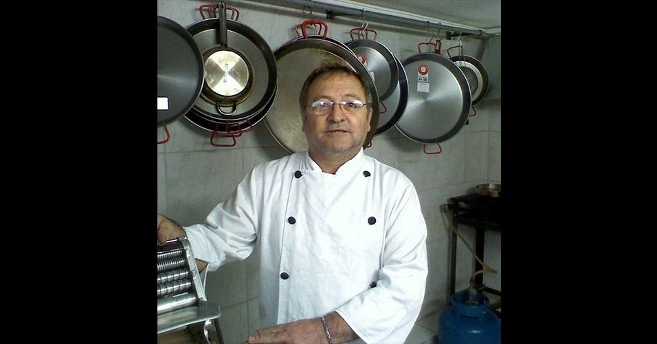 Domingo virou chef de cozinha e hoje organiza eventos em Criciúma (SC)