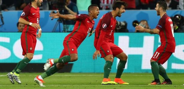 Nani tem jogado por Portugal na Euro - Michael Steele/Getty Images