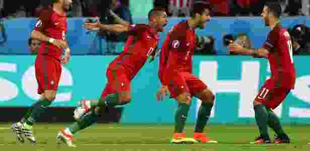 Nani tem jogado por Portugal na Euro - Michael Steele/Getty Images
