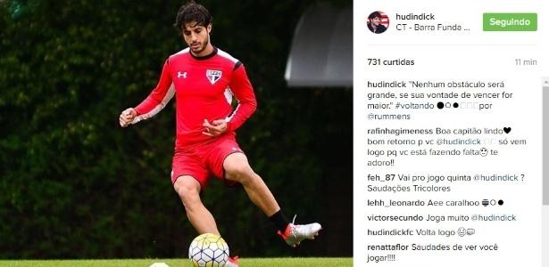 Hudson renovou recentemente com o São Paulo, mas desperta a atenção do Cruzeiro