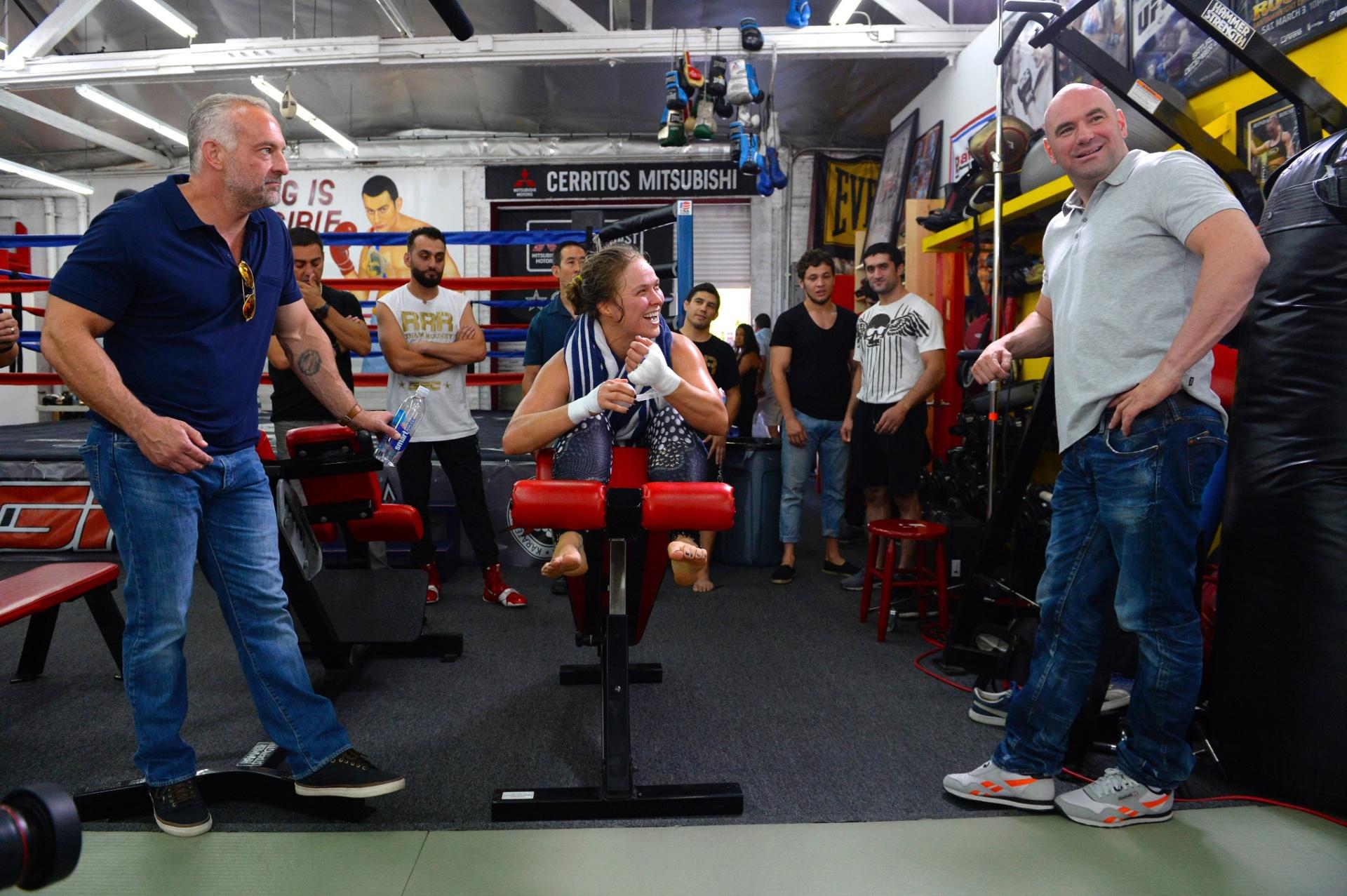 UFC: Lorenzo Fertitta, Ronda Rousey e Dana White