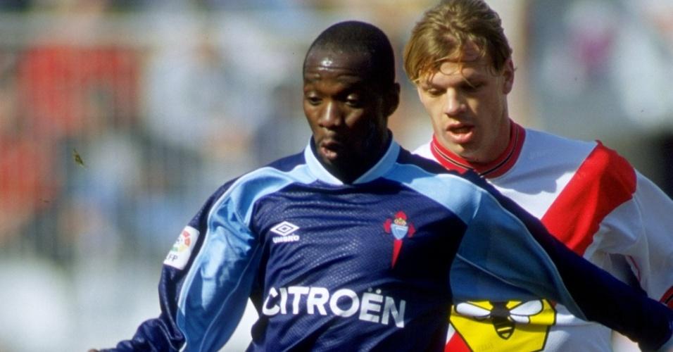 Campeão mundial em 1998, Claude Makelele teve uma passagem pelo Celta de Vigo, da Espanha