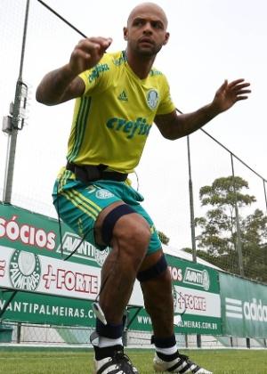 Felipe Melo foi a grande contratação do Palmeiras para 2017